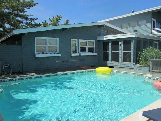 The best of all LBI worlds - Bay, Beach, and Pool