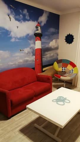 Un coin du salon ...