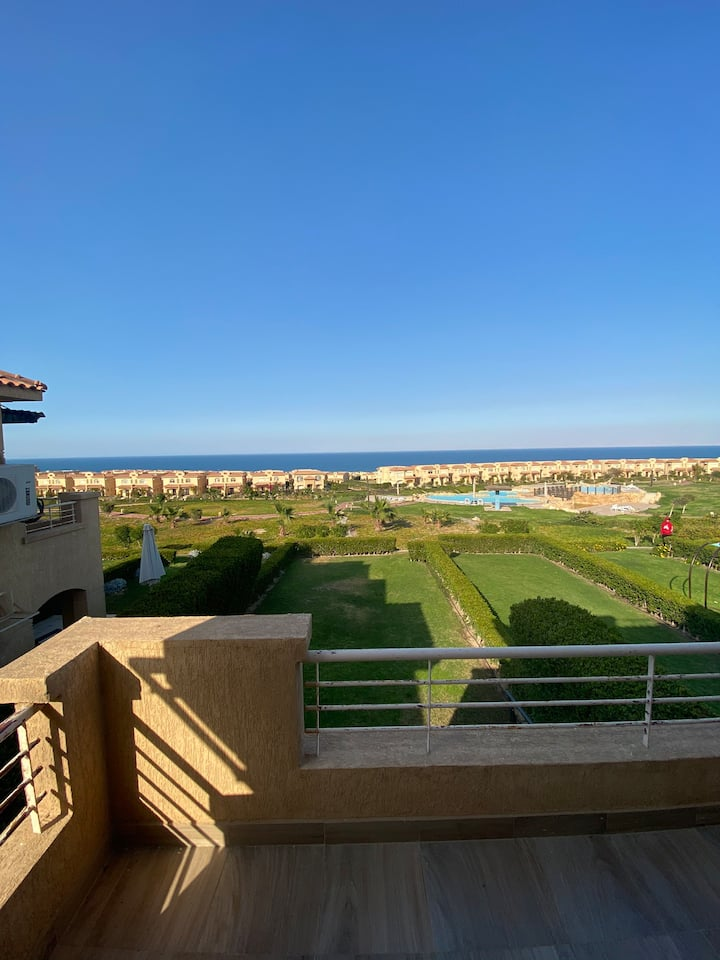 Town house For Rent in compound Telal ein Sokhna