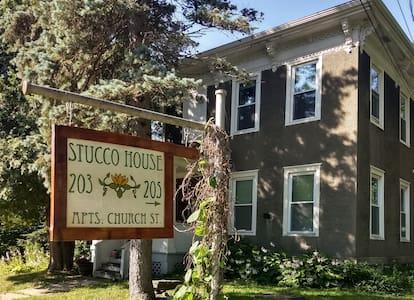 The Stucco House
