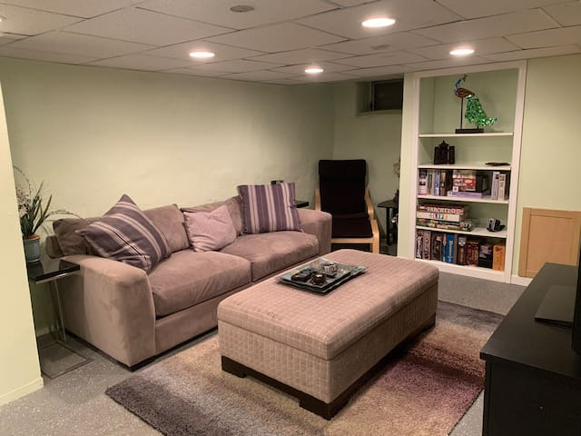 Spacious 2BR 1B home with finished basement