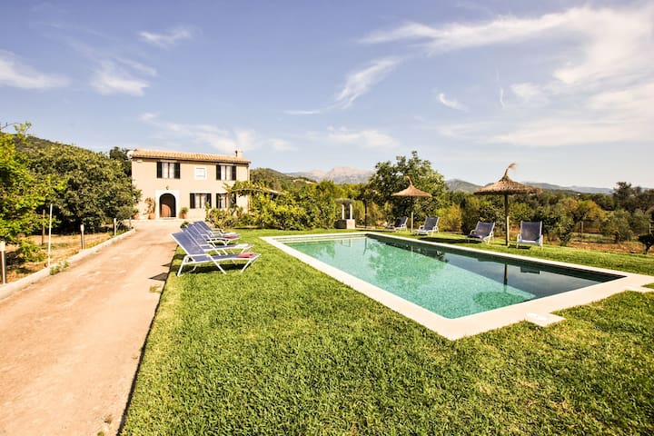 Modern Mansion in Selva with Private Pool