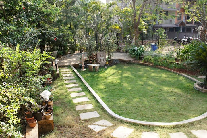 Atrio Villa(2BHK) with 2000 Sqft landscaped Garden