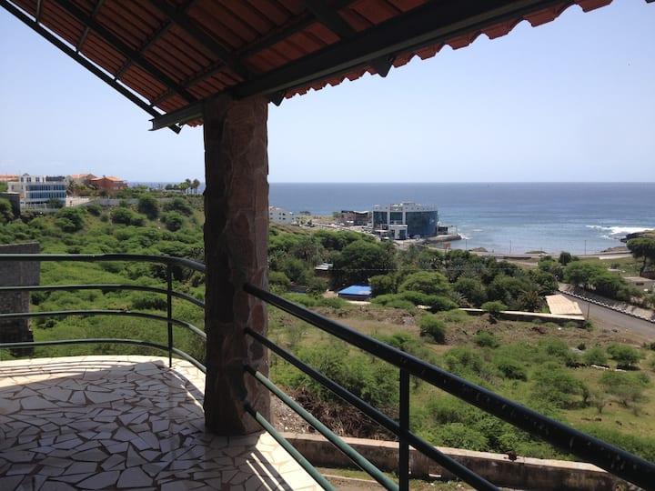 Great location in Praia- fun, rest&recoup, work!