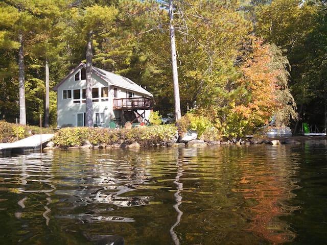 Lakehouse on Thomas Pond! - Raymond - Talo