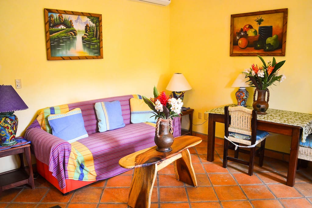 Gardenia two Bedroom apartment. Living room