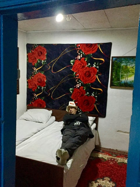 Дом в горах Алтын Арашан .