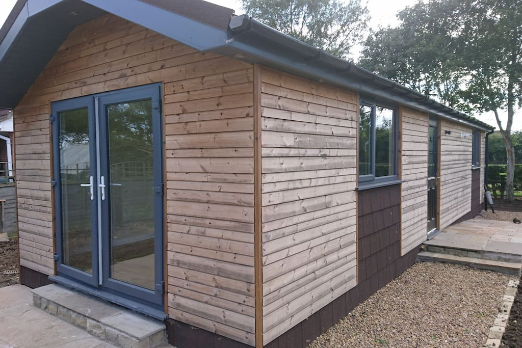 The new lodge cabin