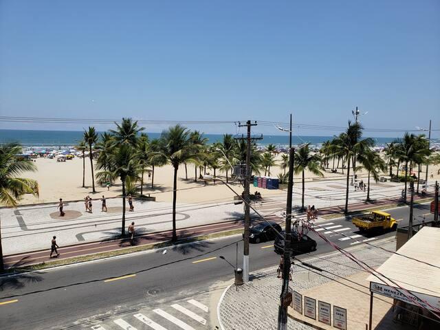 Apartamento de Frente para o  Mar na Praia Grande