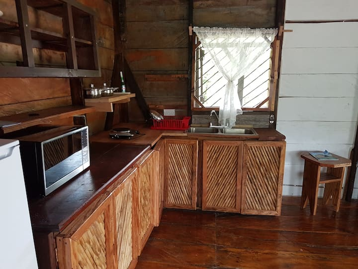 River cottage for 5 persons, with kitchenette