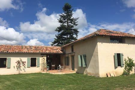 Newly restored stone cottage
