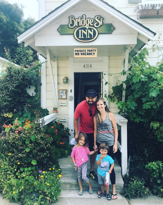 Families, friends, and groups enjoy turning the Bridge Street Inn into their private vacation rental.