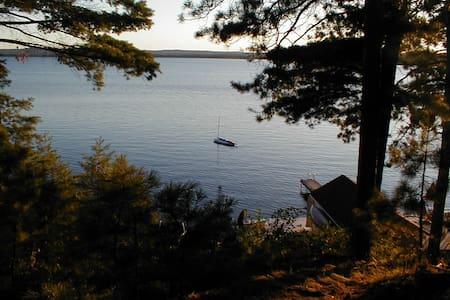 Beautiful Round Lake St Patricks Bay.