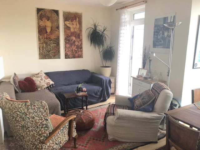 Private room in bright apartment in Peckham