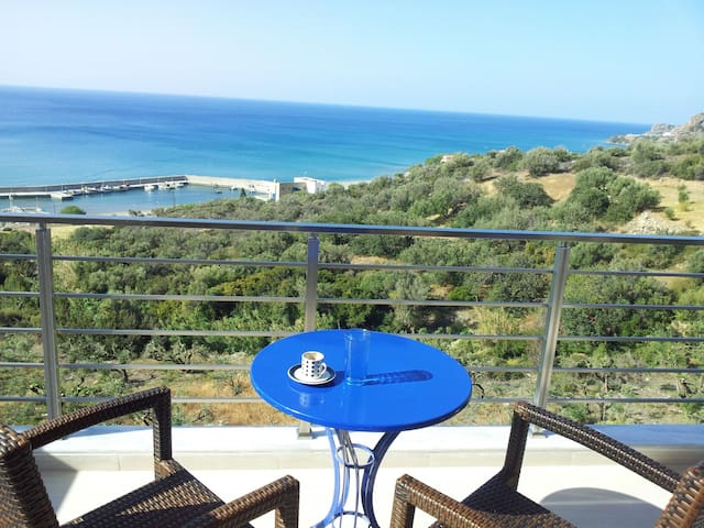 Sea-view studio in Kastri/Keratok   - Kastri - Byt