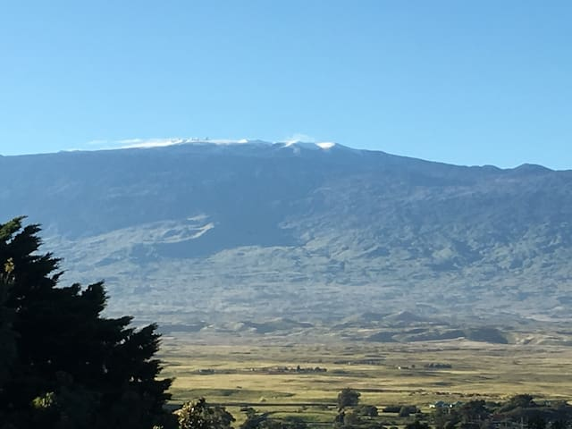 Mauna Kea View Ohana with Hot Tub!