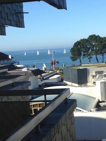 Bénodet : studio vue mer plage à 150 m , Thalasso