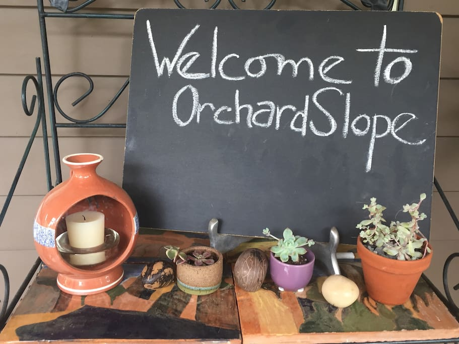 OrchardSlope welcomes our Airbnb Guest