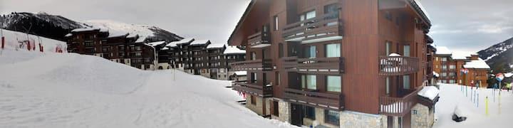 Valmorel : Appartement avec terrasse plein sud