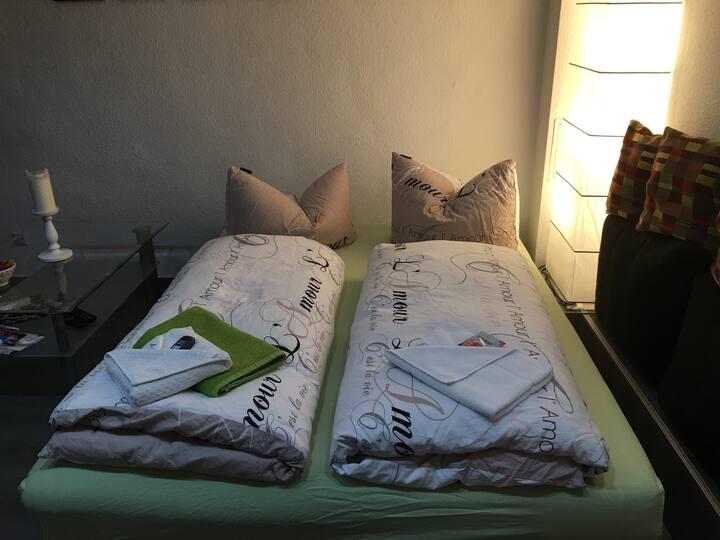 39qm 2 Zimmer Apartment