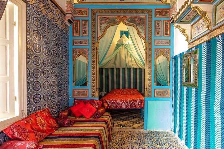 Dar Shems, maison ambiance 1001 Nuits