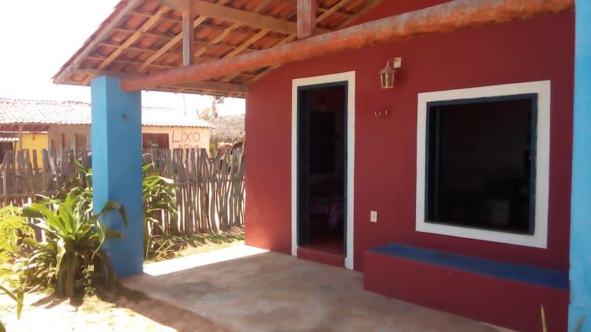 Casa frente p/ o mar/ Canoa Quebrada - Canoa Quebrada - Huis