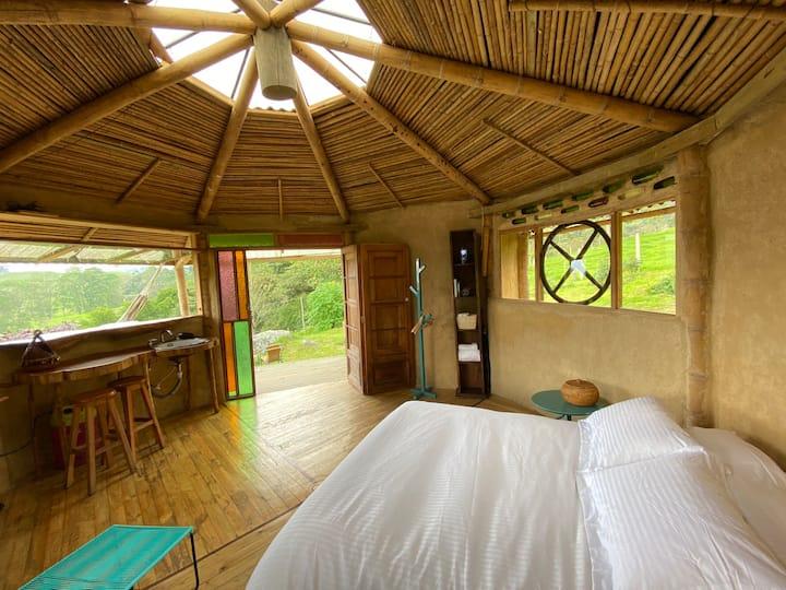 Eco Cabaña LA FELICIDAD SanFrancisco Cundinamarca