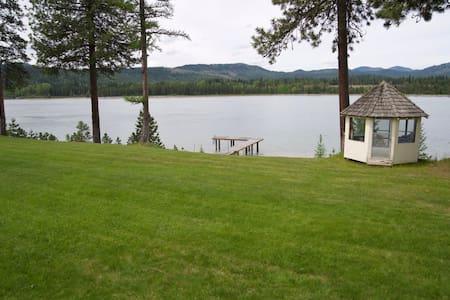 Entire House-Gorgeous lake view w/dock-3.5 acres.