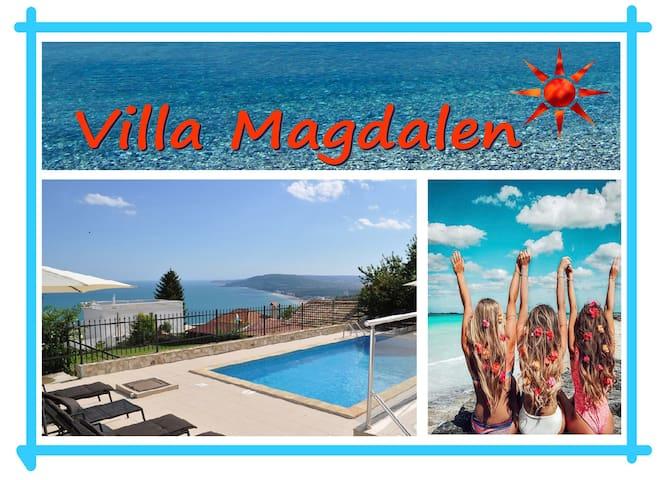 VILLA MAGDALEN, with pool, near Balchik and Albena
