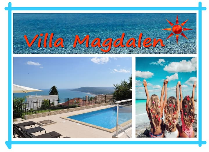 VILLA MAGDALEN, with pool, near Balchik and Albena