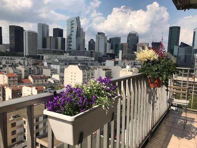 Appartement 47m2 avec balcon proche la Défense