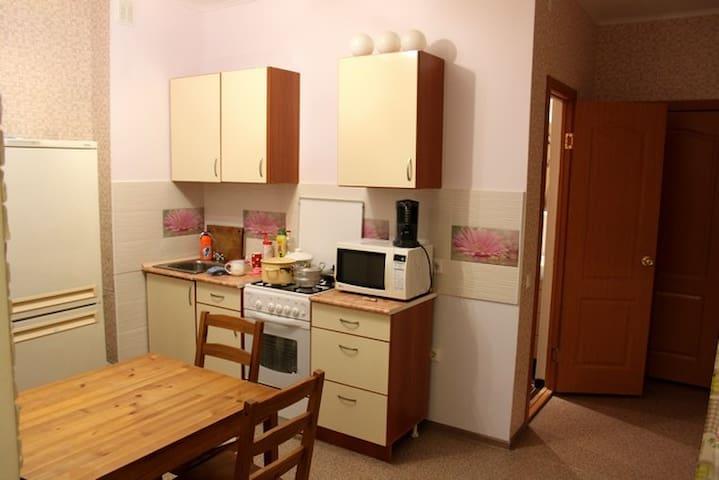 Яркая квартира в коттедже - Voronez - Daire