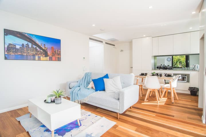 Blue Style*1Bed1Bath APT*North Sydney*Wifi*Parking