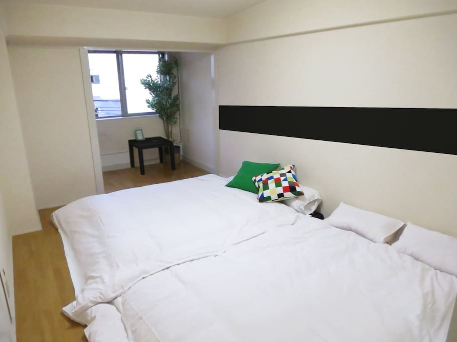 Our rooms are cleaned by professional staff.