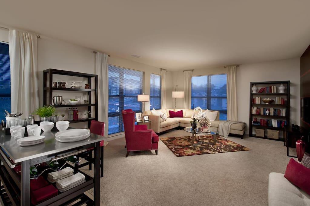 Living Room **Model Photo**