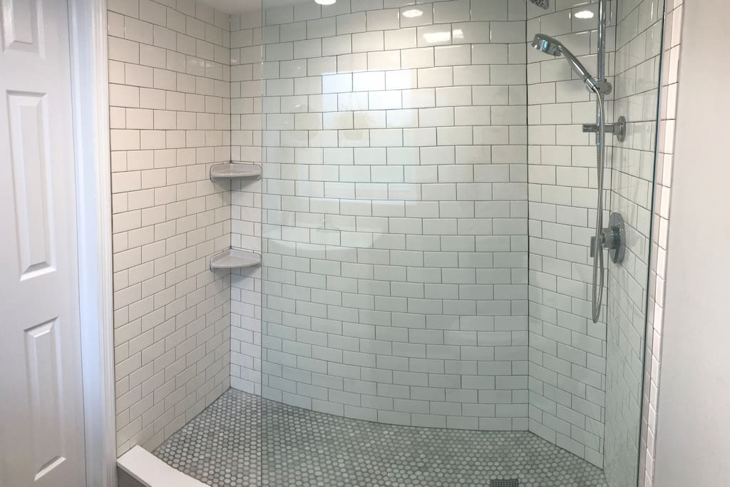 Private Bathroom - Glass Shower