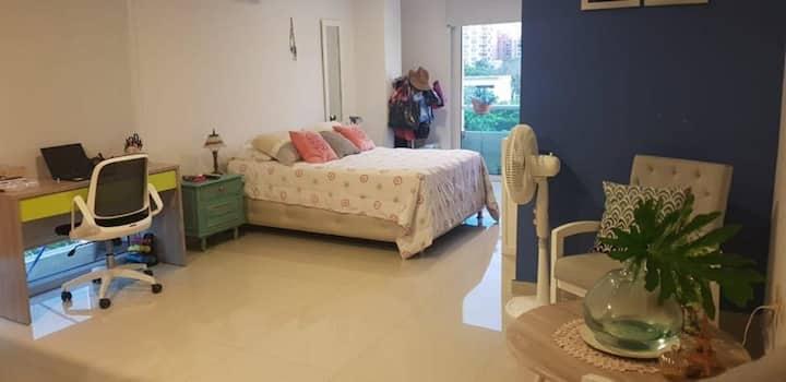 Apartaestudio en zona exclusiva de Barranquilla