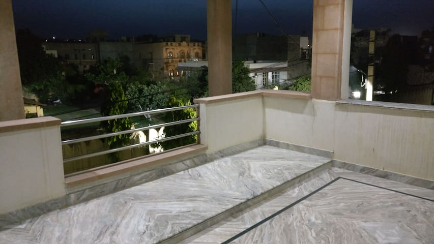 Contemporary luxurious Jodhpur Sandstone Villa