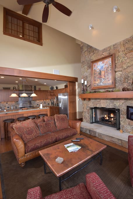 Fireplace,Hearth,Couch,Furniture,Lighting