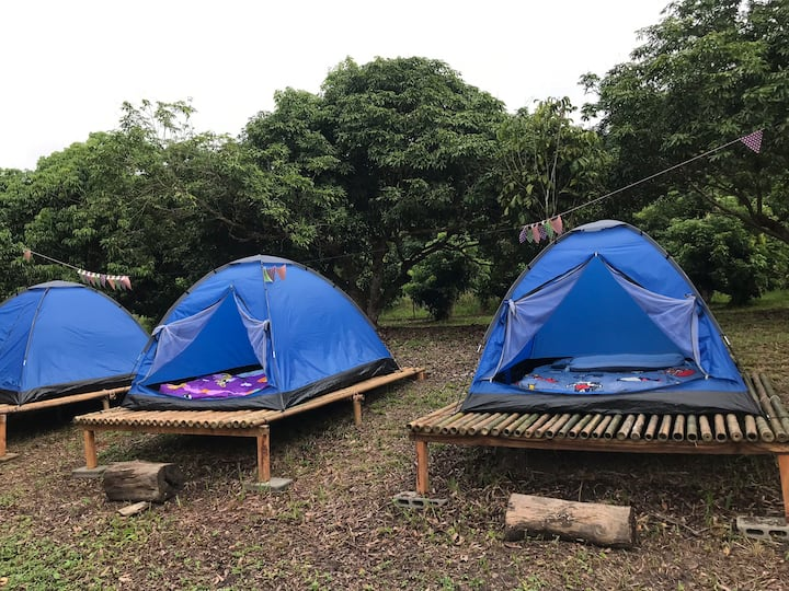 Baan Rai Ing-Aoon Farmstay #Tent 2