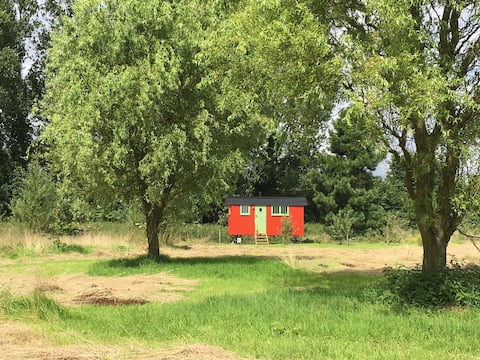 Alder at Fen Lodge Shepherd's Huts