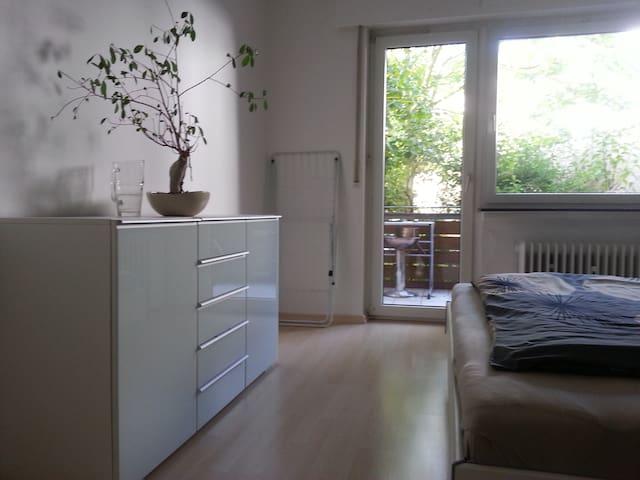 Sehr zentr. ruh. Wohnung m. Balkon im Woogsviertel - Darmstadt - Byt