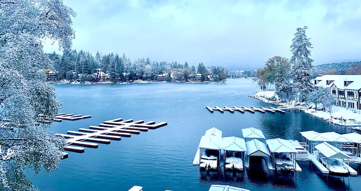 Lake Front Condo Inside Lake Arrowhead Village