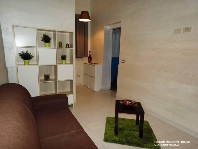 Naxos Modern House - Giardini Naxos - Haus