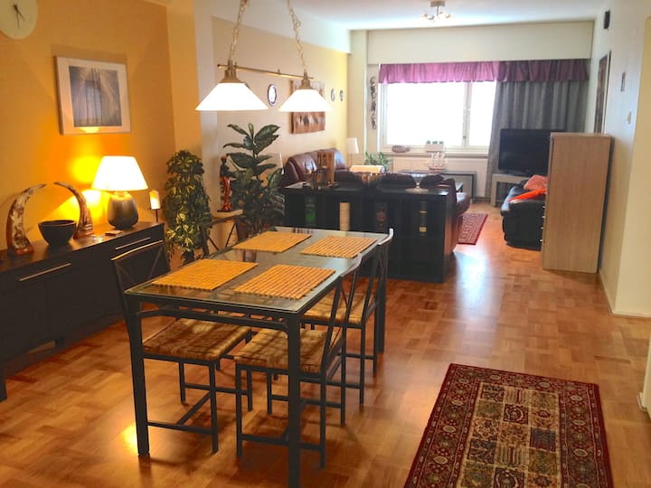 Large Apt in Upscale location