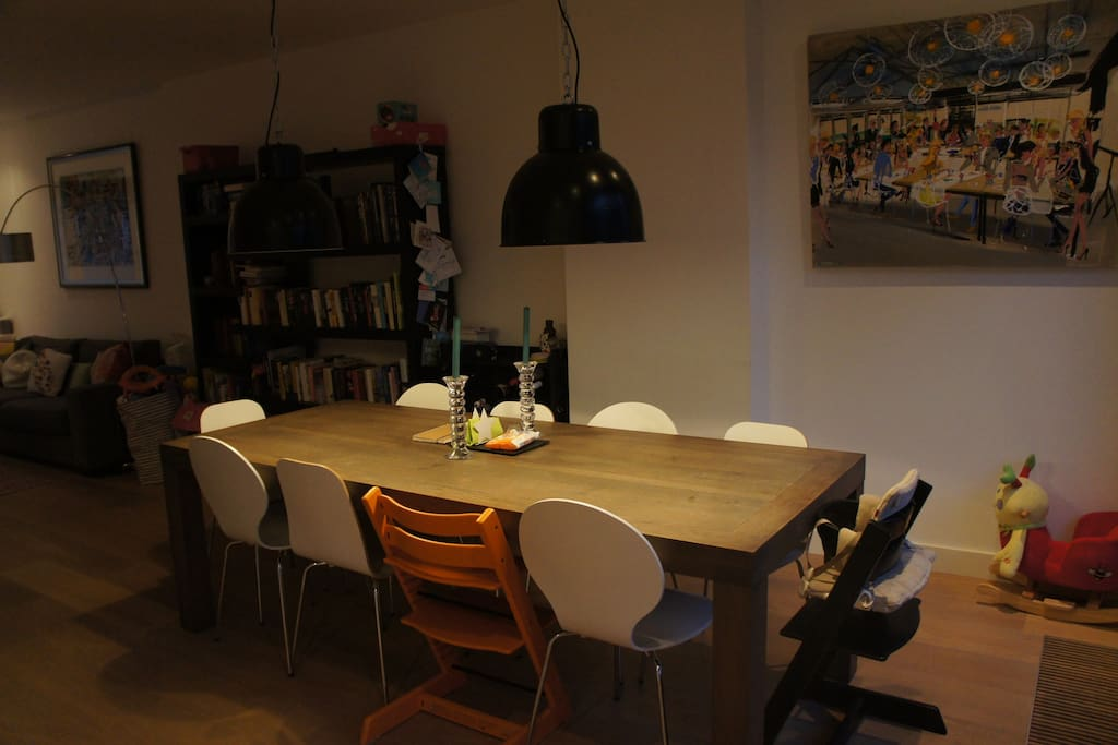 Dining room with access to the garden