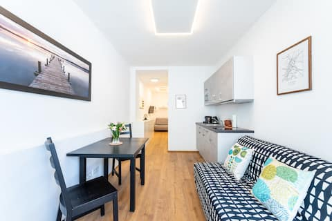 Enjoy the City Trip from a Smart Studio Apartment