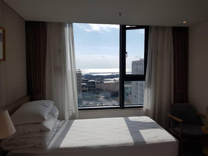 서귀포 신시가지 Non-serviced 호텔 객실-1