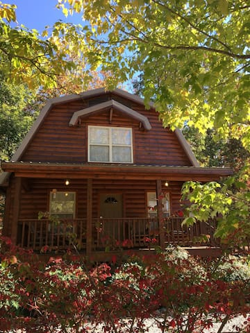 Lookout Mountain Cottage- Chestnut Oak - Rising Fawn - 통나무집