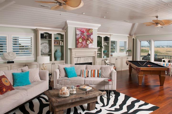 Luxury Beach House   Steps to the beach